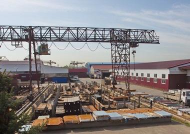 Открытые склады для хранения металлоконструкций